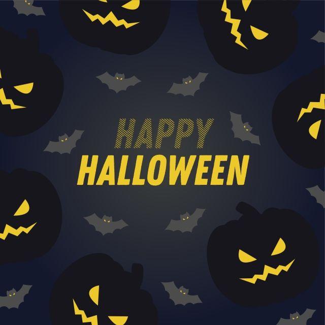 Happy Halloween Vector Design Happy Halloween Halloween Pumpkin Png And Vector With Transparent Background For Free Download Halloween Vector Halloween Design Pumpkin Png