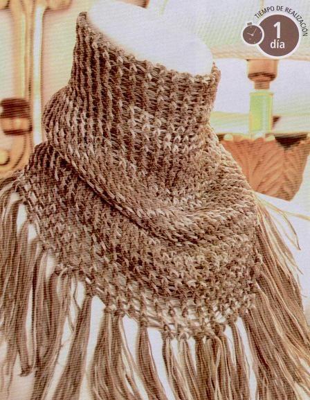 Esta bufanda artesanal esta increible... conocen al artista?