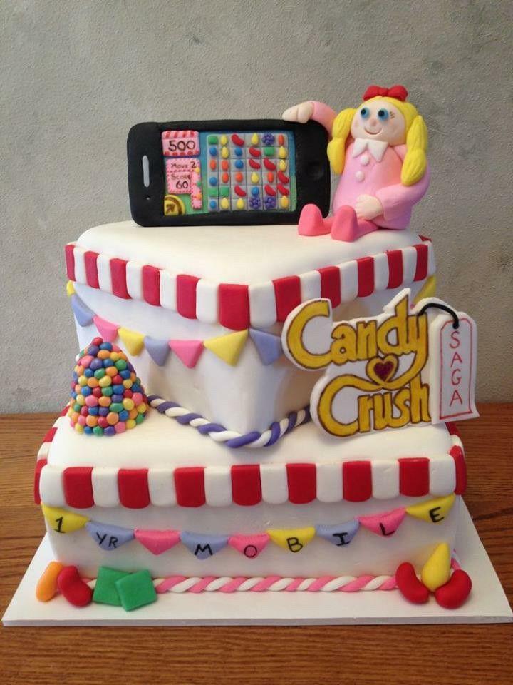 Cake candy crash