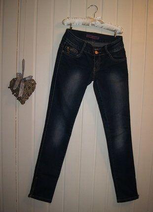 Kup mój przedmiot na #vintedpl http://www.vinted.pl/damska-odziez/dzinsy/17006101-spodnie-rurki-dzinsy-skinny-biodrowki-z-suwakami-po-bokach