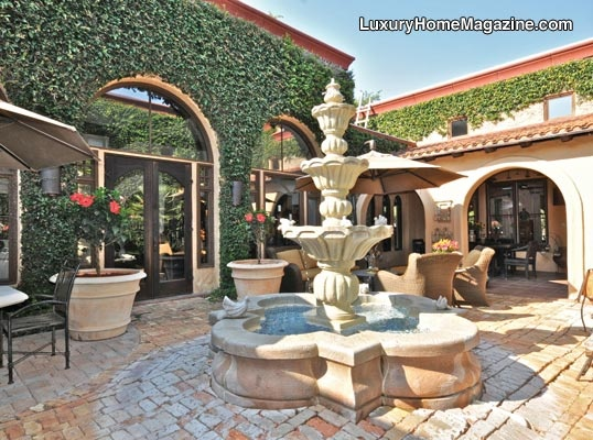 Lhm san antonio one of a kind custom designed hacienda for Homes with enclosed courtyards