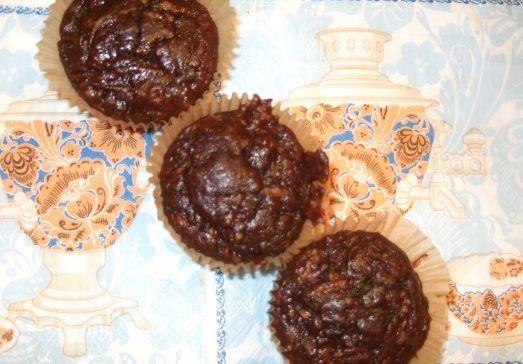 Шоколадные Палео кексы с цуккини | Безглютеновая Безказеиновая Диета