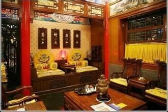 """Dazhaimen is regarded as a """"living cultural relic"""" on the western Beijing landscape. Its interior decor is a convergence of architecture and antique furniture."""