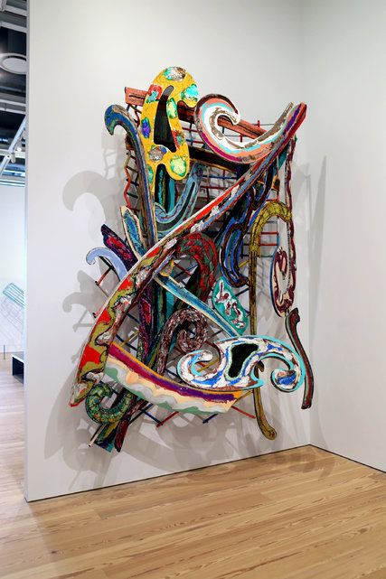 """Khar-pidda 5.5x"" (1978). Credit 2015 Frank Stella/Artists Rights Society (ARS), New York;"