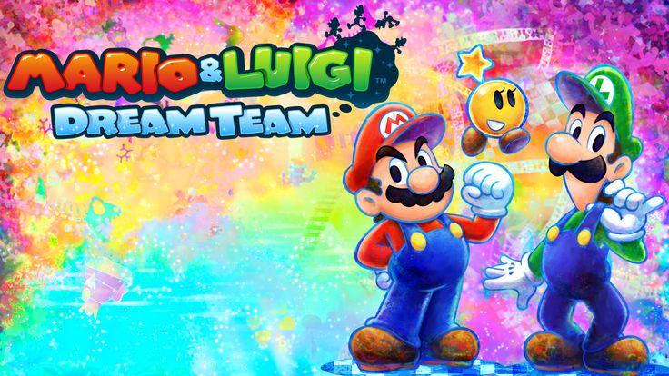 Mario and Luigi - Mario and Luigi Dream Team - Mario and Luigi games - Nintendo