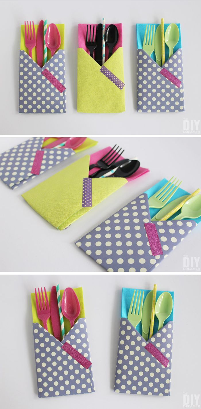 Paper for craft projects - Crafting With Paper Diy Utensil Holders Easy Paper Craftsdiy