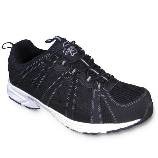 Rockport Eureka Hombre US 7 Negro Zapatos para Caminar FLKWo0