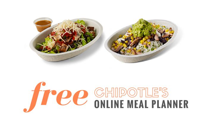 Chipotle Online Meal Planner