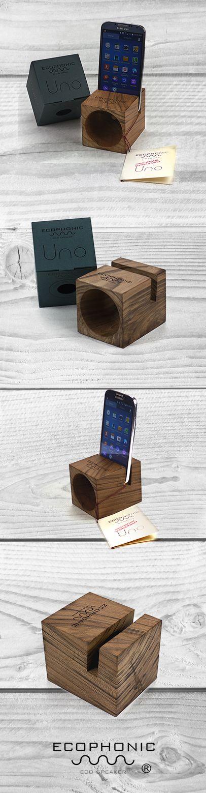 Wooden #EcoSpeaker for smartphones Original design | Spain