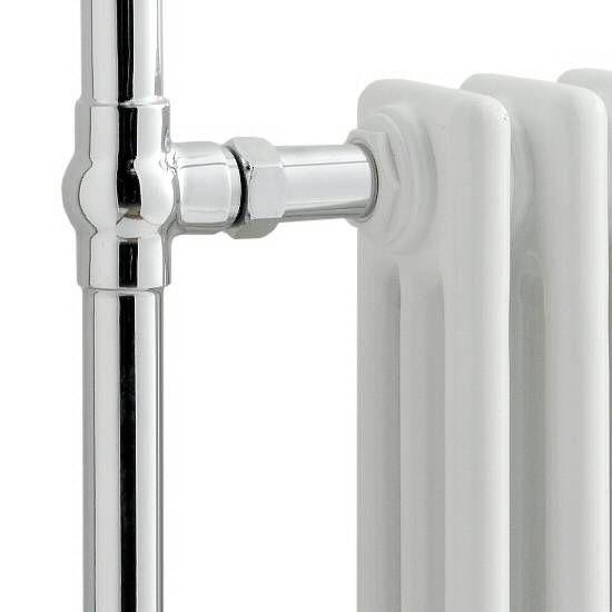 Sèche-serviettes radiateur traditionnel 940 x 635 mm - 1033 watts - Image 3