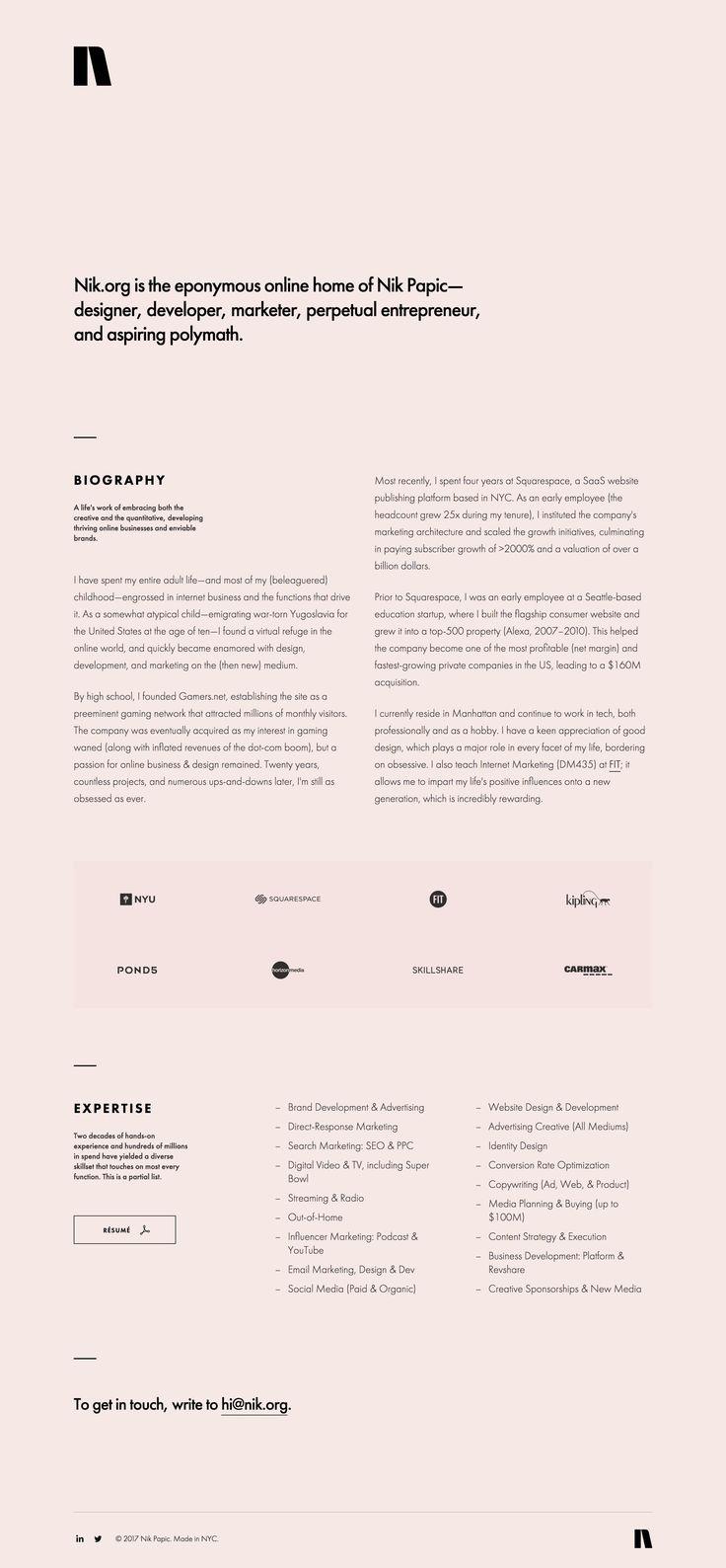 Best 25 design portfolio layout ideas on pinterest for Minimal art resumen