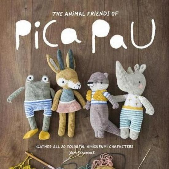 Animal Friends of Pica Pau Colouring