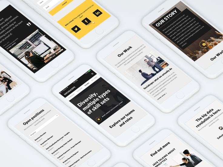 SocialCops - Responsive Mobile Web