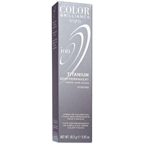 Ion Color Brilliance Brights Semi-Permanent Hair Color Titanium