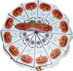 Halloween papieren taart