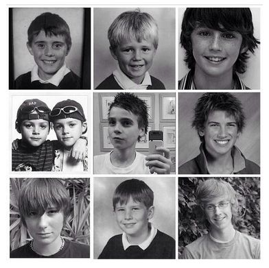 Really young YouTubers. Troye Sivan, joe sugg, Jacksgap, Joey Graceffa , Tyler Oakley, Dan Howell, Alfie, Marcus Butler,
