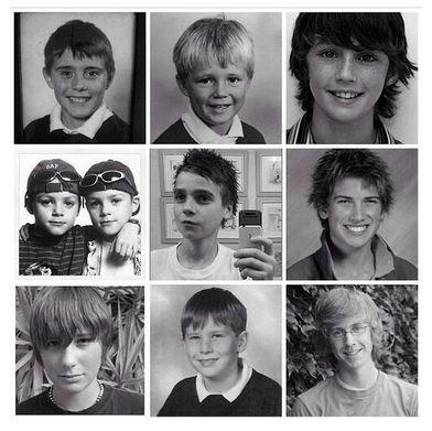 Really young YouTubers. Troye Sivan, joe sugg, Jacksgap, Joey Graceffa , Tyler Oakley, Dan Howell, Alfie, Marcus Butler,