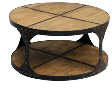 Recycled Wood industrial-coffee-tables