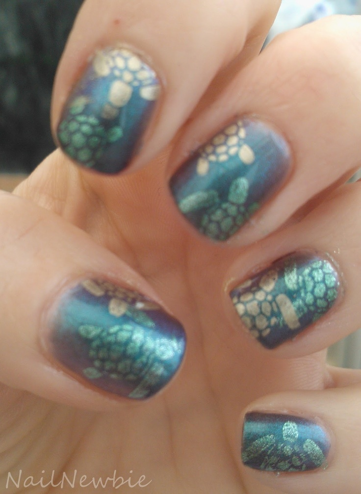 Nail Newbie Notd: 29 Best Images About Nails Turtle On Pinterest