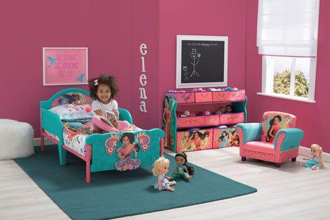Disney Princess Elena of Avalor 3D Toddler Bed | Toddler ...