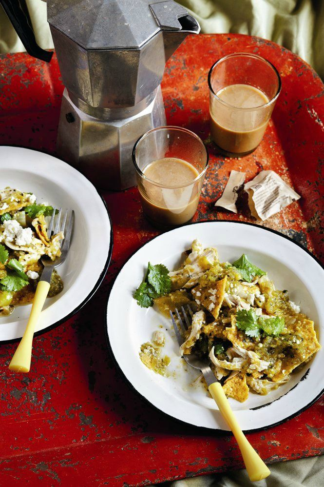 Chilaquiles with Tomatillo Salsa (serve this when you want a hearty ...