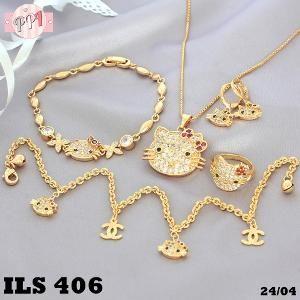 Lapis Emas Set Perhiasan Hello Kitty Permata Zircon Gold 18k LS406 Fast Respon Pin BB : 5F81C0E7 No Hp : 081223335084 bahan dasar tembaga (bukan besi). dilapisi RODHIUM yang biasanya digunakan untuk melapisi emas di toko-toko emas 18k.Permata Zircon, Bisa di sepuh ulang dan anti alergi. Hai sista J  barang Ready  siap kirim stock terbatas, pastikan sudah membaca deskripsinya dengan benar yah, order hari ini kirim hari ini juga, segera atc yahh , terimakasi sebelumnya J