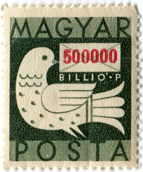 Hungary Postage Stamp: bird by karen horton on Flickr