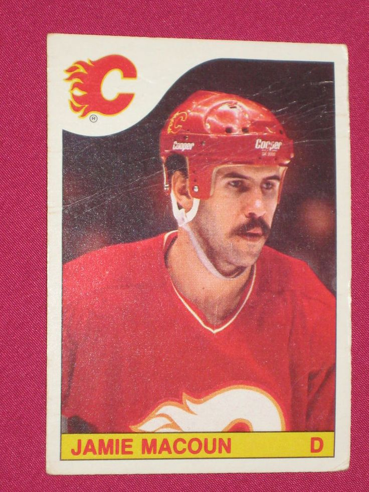 1985-86 #176 Dan Quinn, O-Pee-Chee OPC, Calgary Flames NHL Hockey Card | eBay