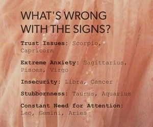 "I'm actually all of these except for ""needs attention"" bc I have anxiety attacks"