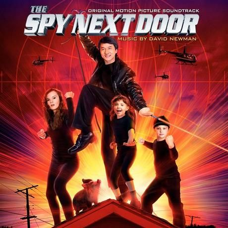 The Spy Next Door by David Newman