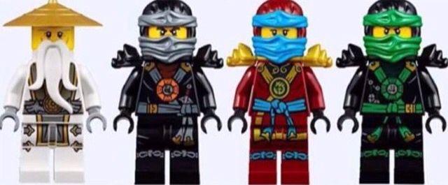 ninjago new season 5 ninjas