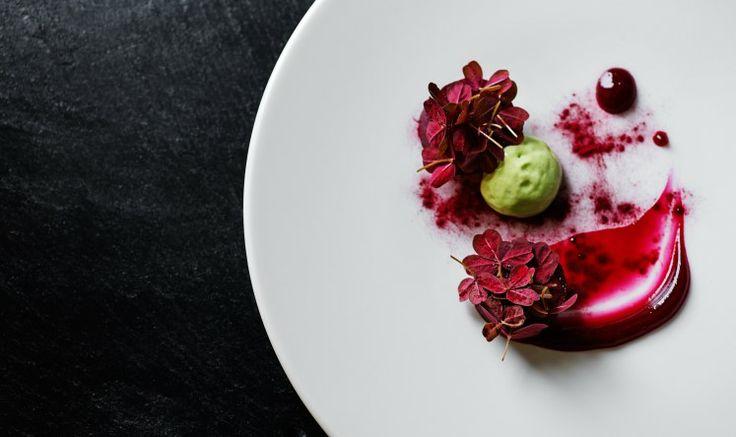 Venison and beets at our Michelin star restaurant Kokkeriet, Copenhagen - Denmark.