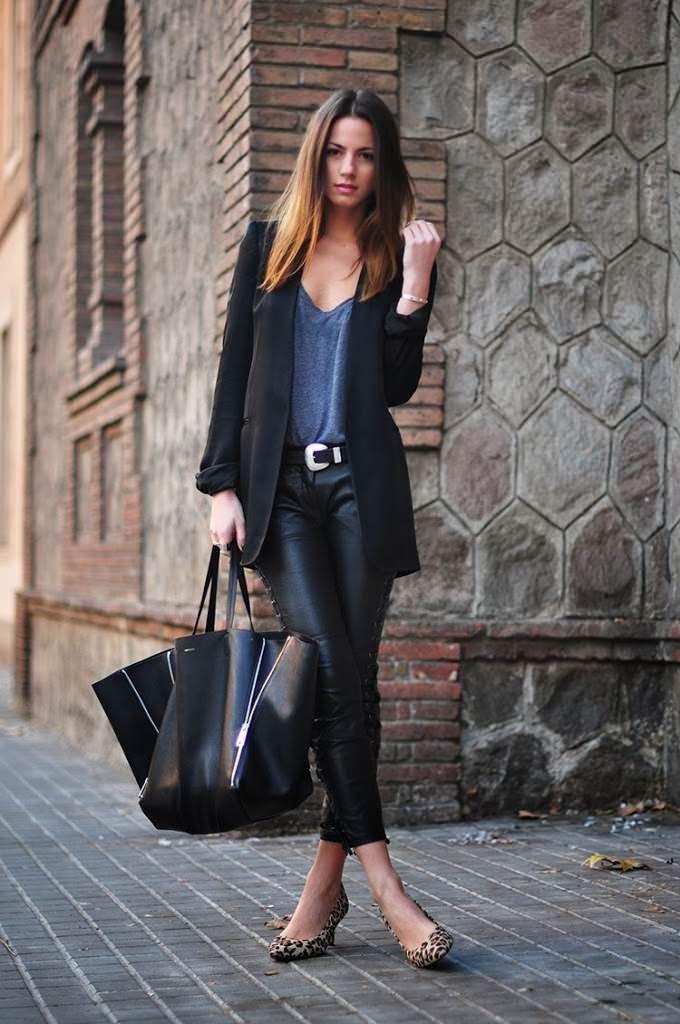 leather pants | Fashionvibe