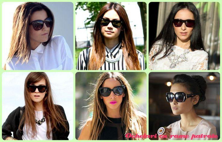 Ultimele tendinte in materie de #ochelaridesoare pentru vara aceasta. #accesorii #ochelari #stil #moda