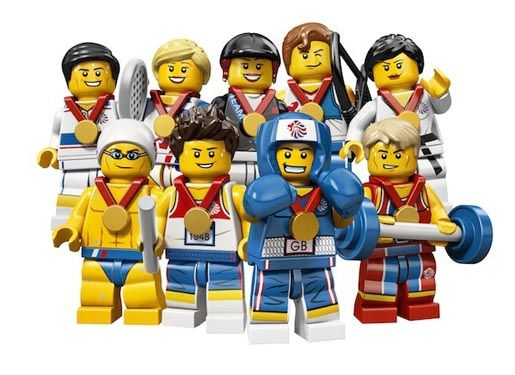 Lego Olympics Minifigures