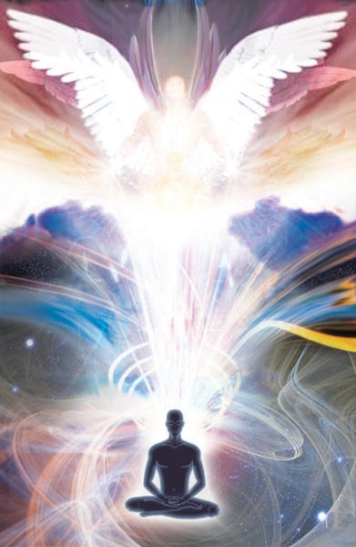 Divine Spark:  Embraced by the Light.