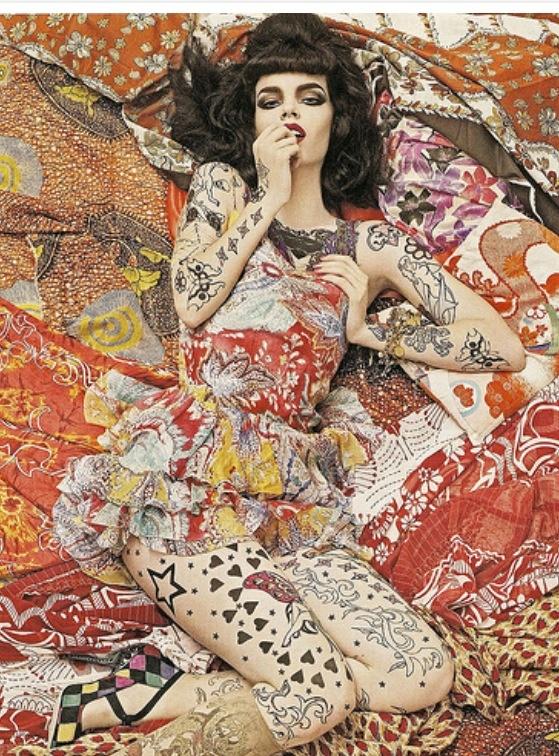 Modern kimono patterns 3