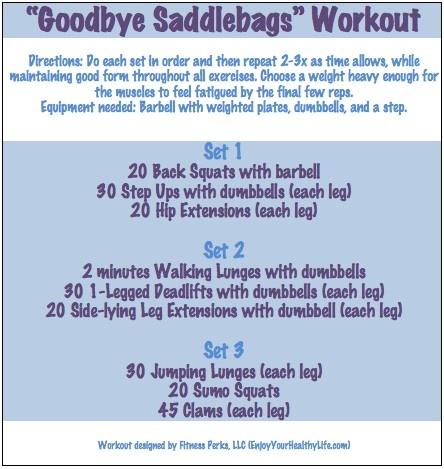 """""""Saddlebags"""" Workout @FitnessPerks"""