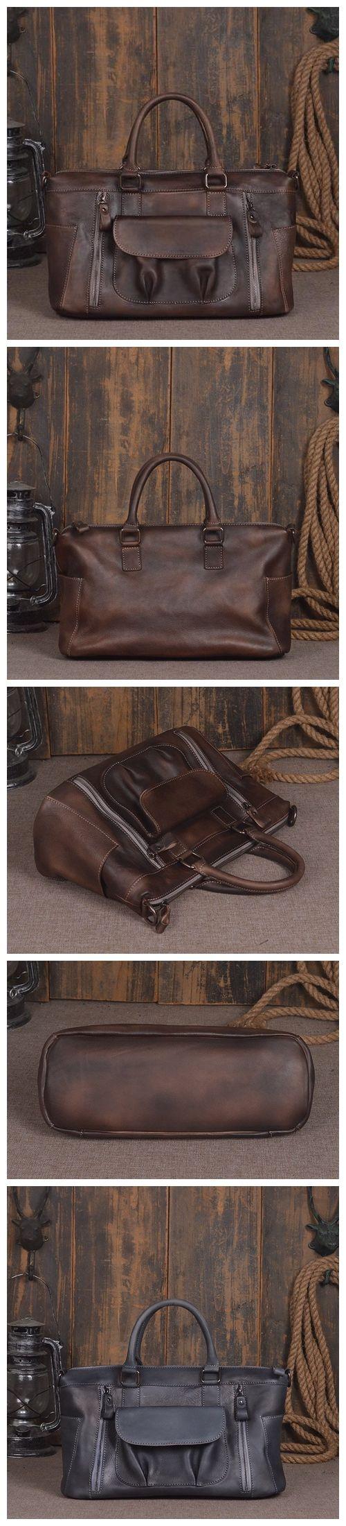 ROCKCOW World leather messenger bags for men women mens briefcase laptop bag best computer shoulder satchel school distressed bag 9014