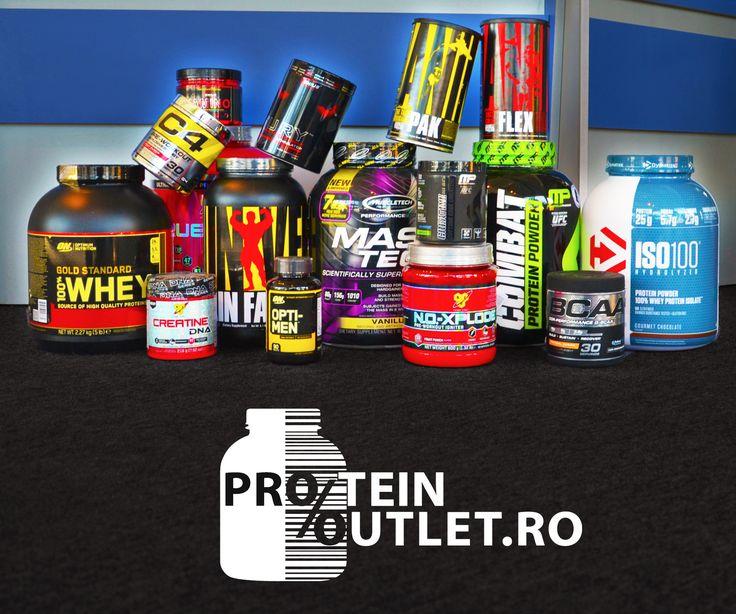 Suplimente pentru toti! Pe Protein Outlet gasesti cele mai mici preturi la suplimentele tale favorite!