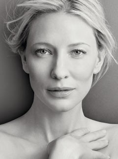 CATE BLANCHETT  I predict Blanchett will take an academy award in 2014 for her performance in Blue Jasmine.