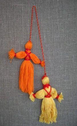 Куклы из ниток своими руками