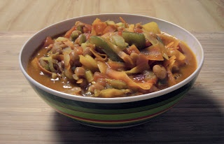 Here is a recipe for Chakalaka, a traditional spicy South African dish filled with vegetables. Try it with some pap, bread, or rice.
