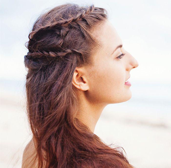 Greek Hair Braid Tutorial 7 Simple Steps Greek Hair Braided Hairstyles Tutorials Braided Hairstyles