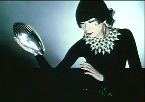 Sayoko Yamaguchi photographed by Serge Lutens for Shiseido, 1980s