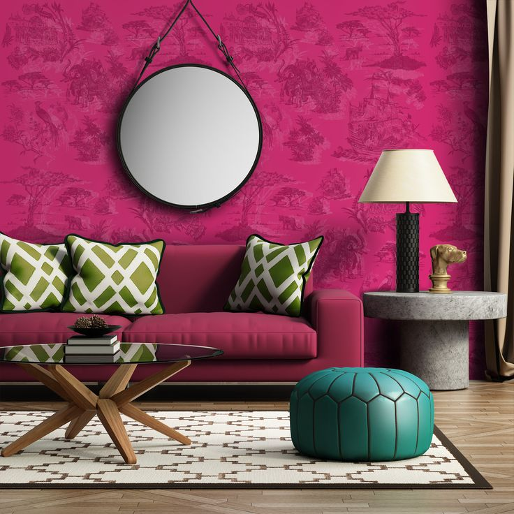 Toile Rosa e Rosa (Toile Pink)