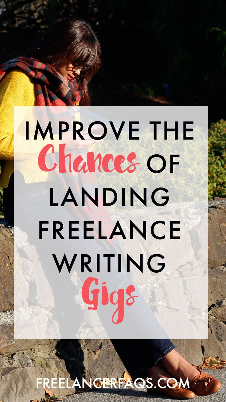 As a new freelance writer how the