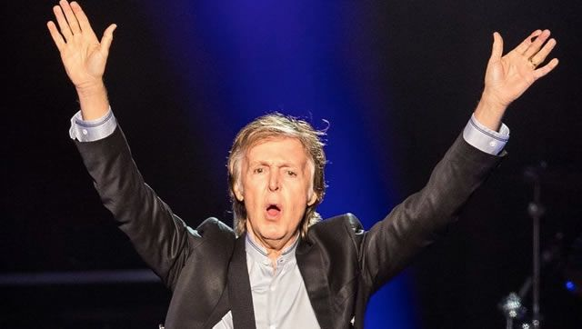 On adore Paul McCartney : quelques photos de son concert à Omaha #oneonone #omaha #paulmccartney