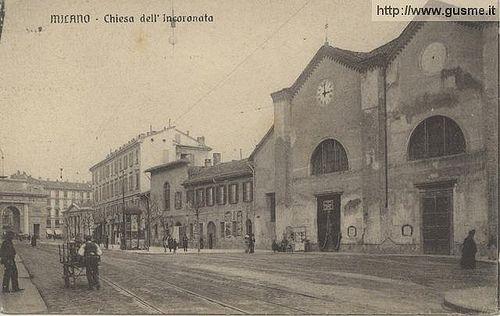 Milano - Chiesa dell'Incoronata | Milàn l'era inscì Urbanfile | Flickr