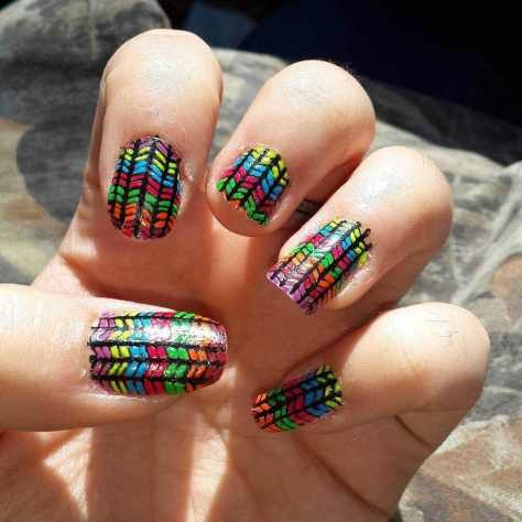 trendy colorful nail art designs 2016 2017 - style you 7 . shweshwe 2017 dresses